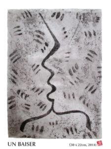 UN BAISER-gravure-72